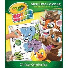 Album de coloriage : Album Color Wonder Animaux