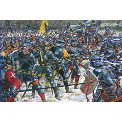 Figurines médiévales: Infanterie suisse XVème siècle - MiniArt-72009