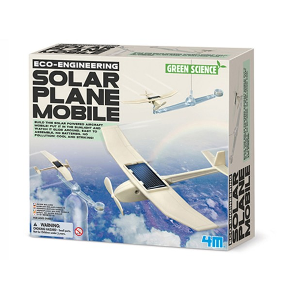 Kit de fabrication Green Science : Avion solaire - Dam-5603376