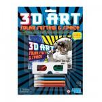 Art 3D L'espace et le système solaire