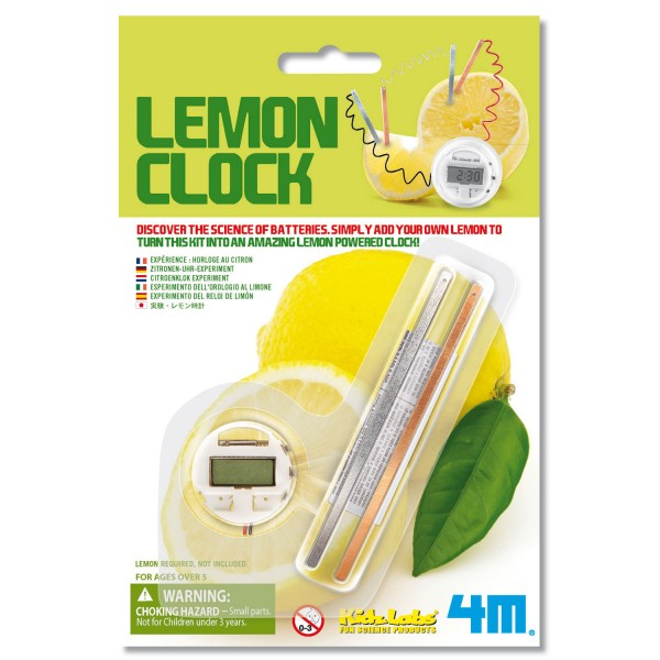 Jeu scientifique Kidslabs : Horloge Citron - Dam-5603306