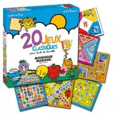 Monsieur Madame : 20 jeux classiques