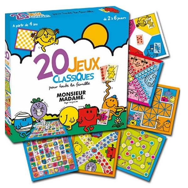 Monsieur Madame : 20 jeux classiques - AbySmile-SMIJDP003