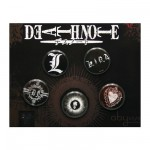 Badges par 5 Death Note : Vintage