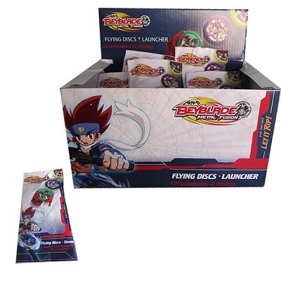 Disques volants : Beyblade Metal Fusion : flying discs + shooter - Abysse-TOYBEY001