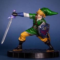 Figurine collector Link en mouvement