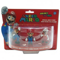 Figurines Nintendo Pack Mario