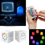 Lampe multi couleurs Pac Man télécommandée