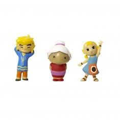 Micro figurines Nintendo : Link, Mémé et Arielle