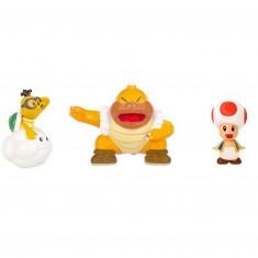 Micro figurines Nintendo : Toad rouge, Lakitu, Super Sumo Bros