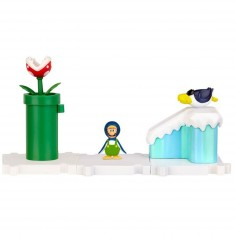 Micro land Nintendo : Luigi de Manchot et Mont sorbet