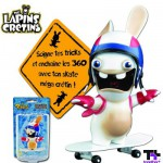 Mini Skateboard : Lapins Crétins