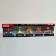 Pack de 5 mini figurines Nintendo 8 Bits