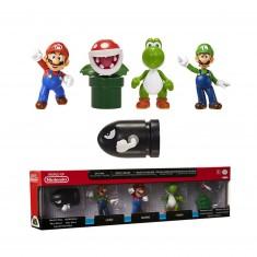 Pack de 5 mini figurines Nintendo wave 1