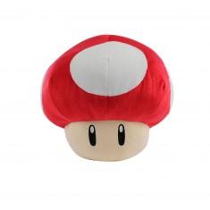Peluche Nintendo : Champignon rouge 35cm