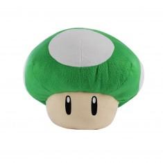 Peluche Nintendo : Champignon vert 35cm
