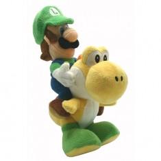 Peluche Nintendo Mario Bross : Luigi et Yoshi