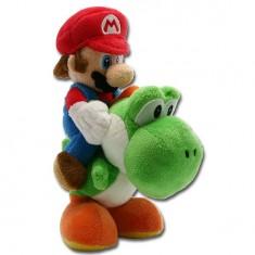 Peluche Nintendo Mario Bross : Mario et Yoshi