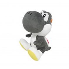 Peluche Nintendo Sanei : Yoshi Noir 17cm