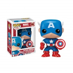 Figurine Marvel Pop Vinyl : Captain America