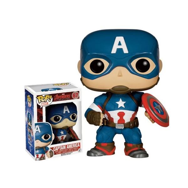 Figurine Marvel Pop Vinyl : Captain America Avengers 2 - AbyssePop-BOBUGT236