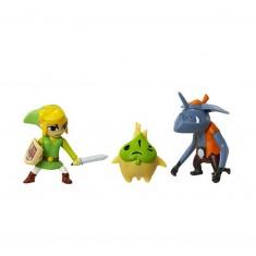 Micro figurines Nintendo : Link, Makar et Bokoblin