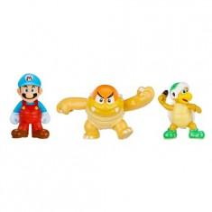 Micro Figurines Nintendo : Mario de glace, Boom Boom, Hammer Bros