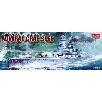 Maquette bateau: Admiral Graf Spee  - Academy-14103