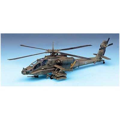 Maquette hélicoptère: AH-64A Apache 1/72 - Academy-2138