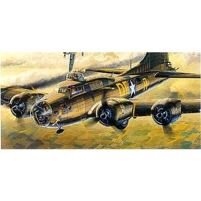 Maquette avion: Forteresse volante B-17F Memphis Belle - Academy-2188