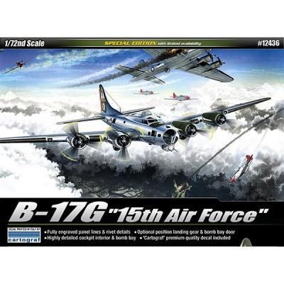 Maquette avion: B-17G 15th Air Force - Academy-12436