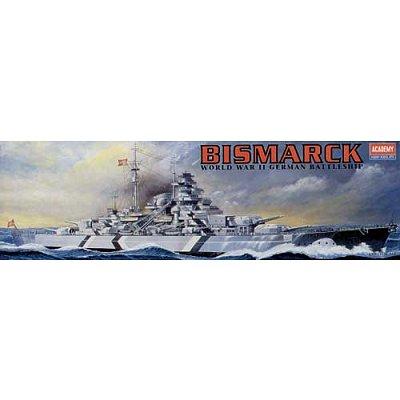 Maquette bateau: Battleship Bismarck (MTR) - Academy-1437