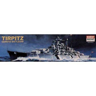 Maquette bateau: Battleship Tirpitz (MTR) - Academy-1438