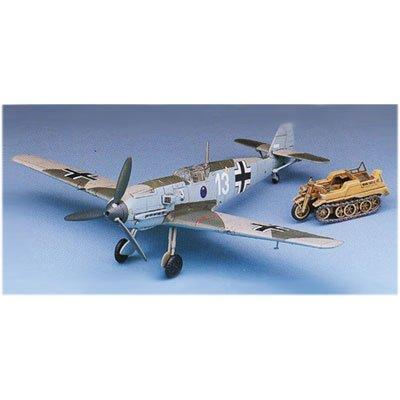 Maquette avion: BF-109 Messerchmitt + Kettenkrad - Academy-2214