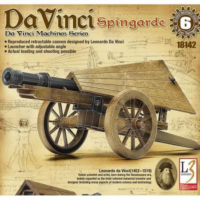 Maquette machine Léonard de Vinci: Canon Spingarde - Academy-LC18142
