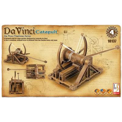 Maquette machine Léonard de Vinci: Catapulte - Academy-LV18137