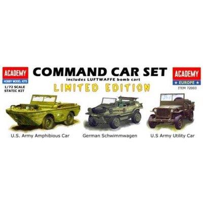 Maquettes véhicules militaires : Command Car Set - Academy-72003