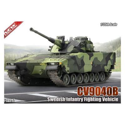 Maquette Char: CV9040B Swedish Vehicule et 2 figurines - Academy-13217