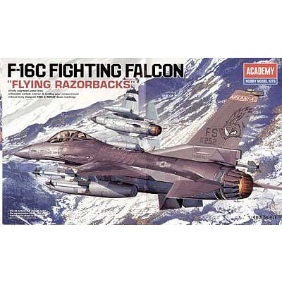 Maquette avion: F-16C Fighting Falcon: Flying Razorbacks - Academy-12204
