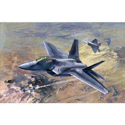 Maquette avion: F-22 Raptor - Academy-12212