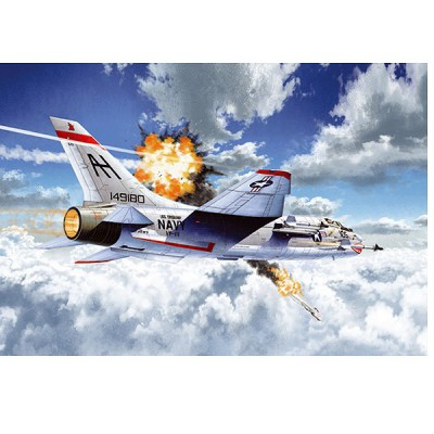 Maquette avion: F-8E VF-111 Sundowers - Academy-12434