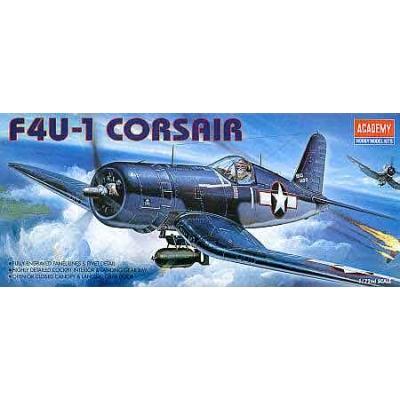 Maquette avion: F4U-1 Corsair - Academy-1657