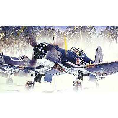 Maquette avion: F4U-1D Corsair  - Academy-2147