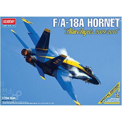 Maquette avion: FA-18A Hornet Blue Angels - Academy-12424