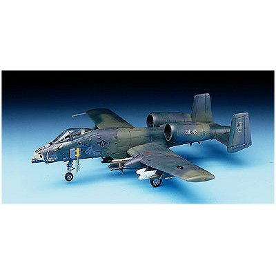 Maquette avion: Fairchild A-10A Thunderbolt II - Academy-1652