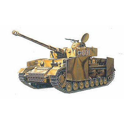 Maquette Char: German Panzer IV H W/ARMOR - Academy-1327-13233
