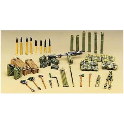Accessoires militaires: Fournitures de chars allemands - Academy-1382