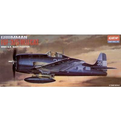 Maquette avion: Grumman F6F-3/5 Hellcat - Academy-2121