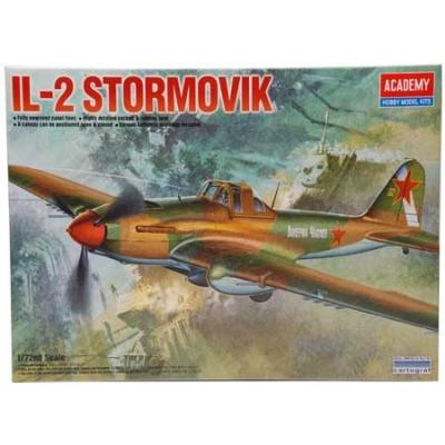 Maquette avion: IL- 2 Stormvik - Academy-12417