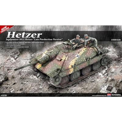 Maquette Char: JagdPanzer 38(t) Hetzer - Academy-13230
